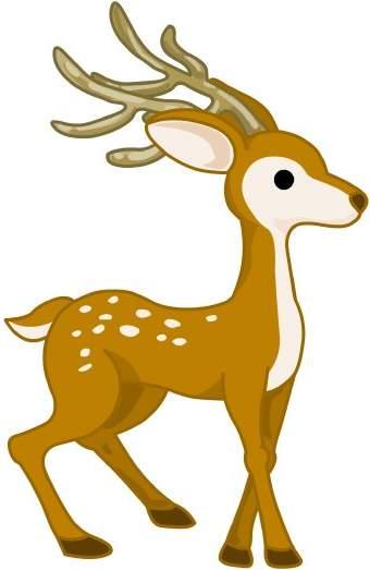 Deer Clip Art #38396