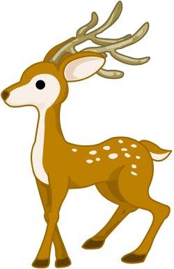 Free Deer Clipart #1