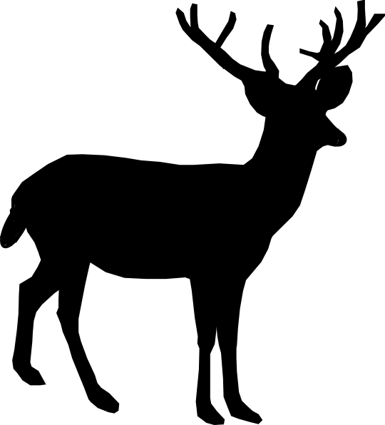 Valuable Whitetail Deer Clipart 56 For Dinosaur Clipart with Whitetail Deer  Clipart