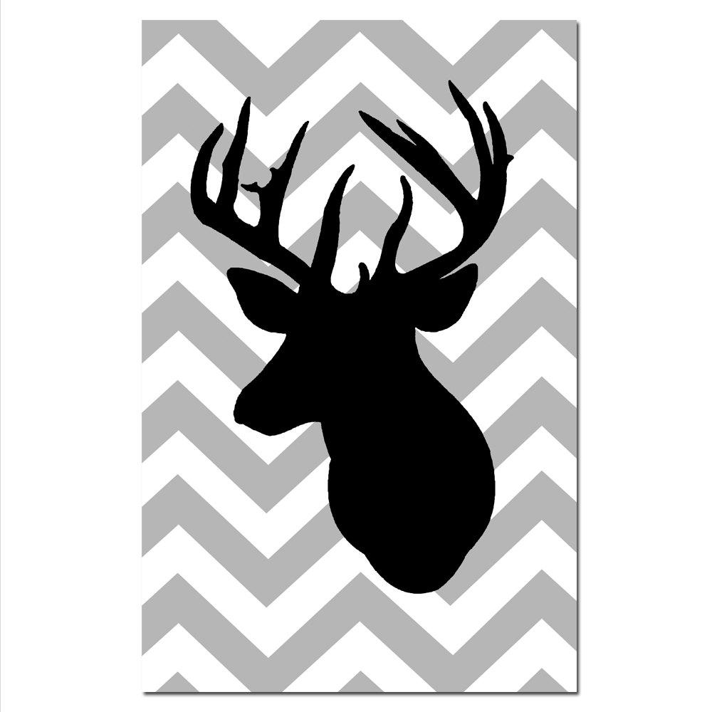 Deer Head Silhouette Clip Art Cliparts Co