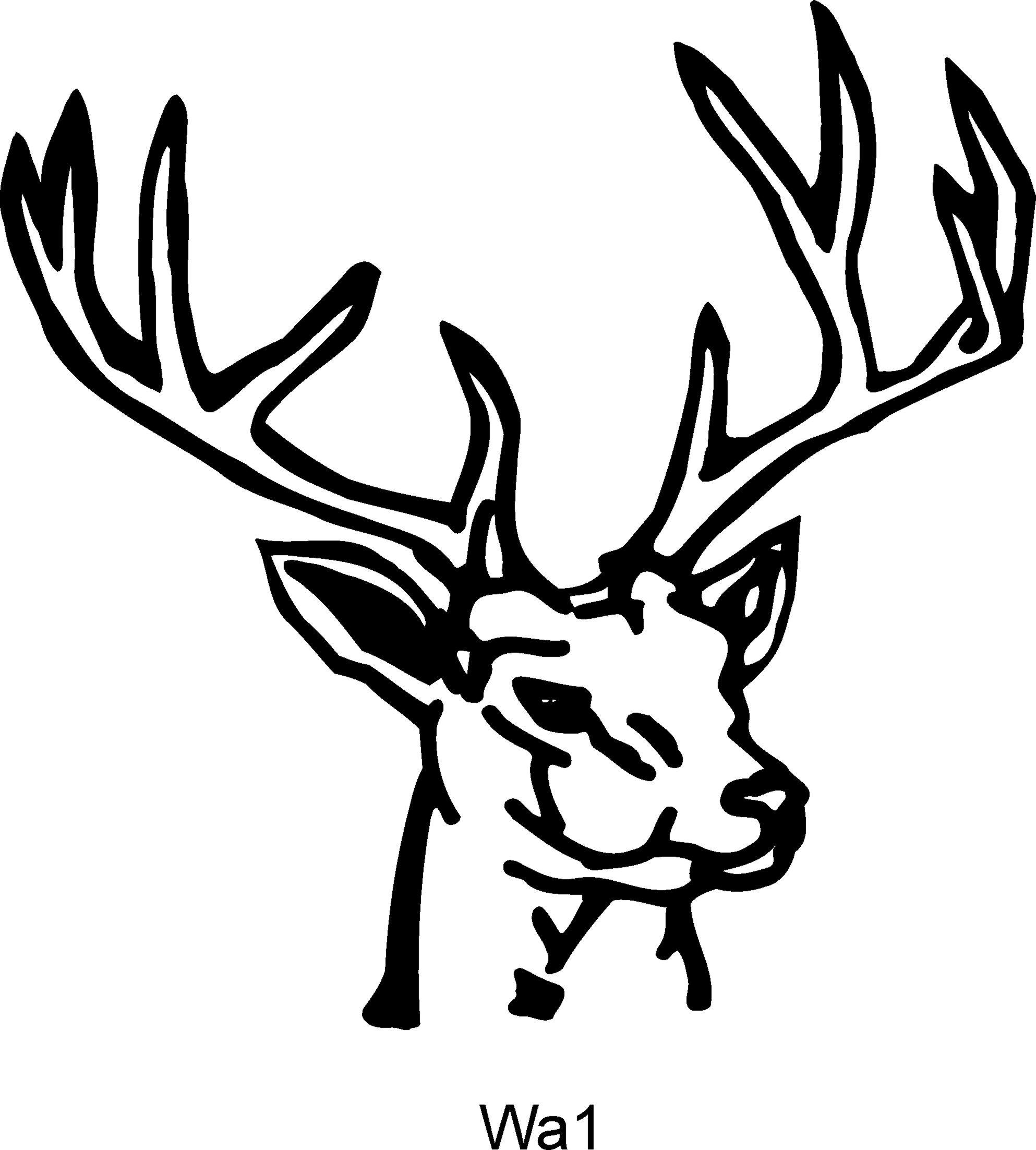 Deer Heads - ClipArt Best .