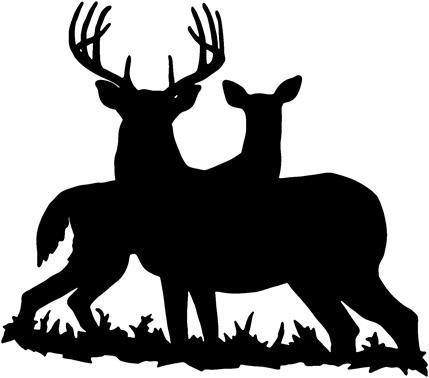 Deer Hunting Clipart - .