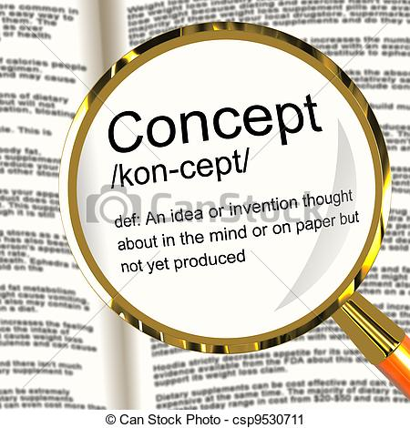Definition Image Clipart. concept clipart