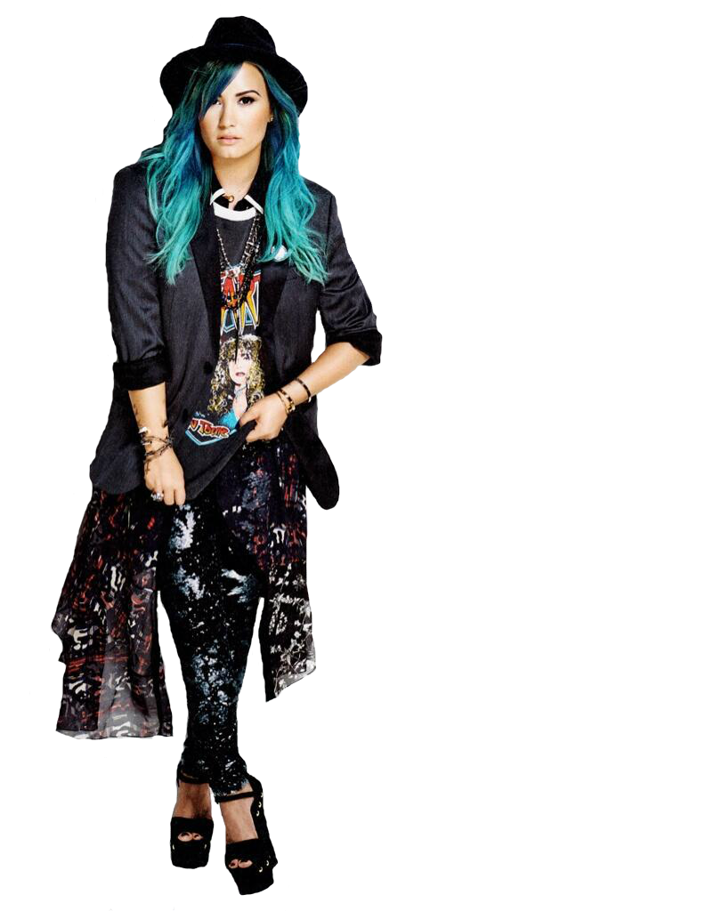 Neon Lights Clip art - Demi Lovato Free Demi Lovato Clipart Png