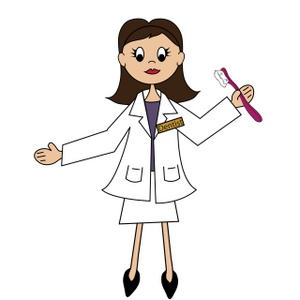 Dentist Clipart Image Lady