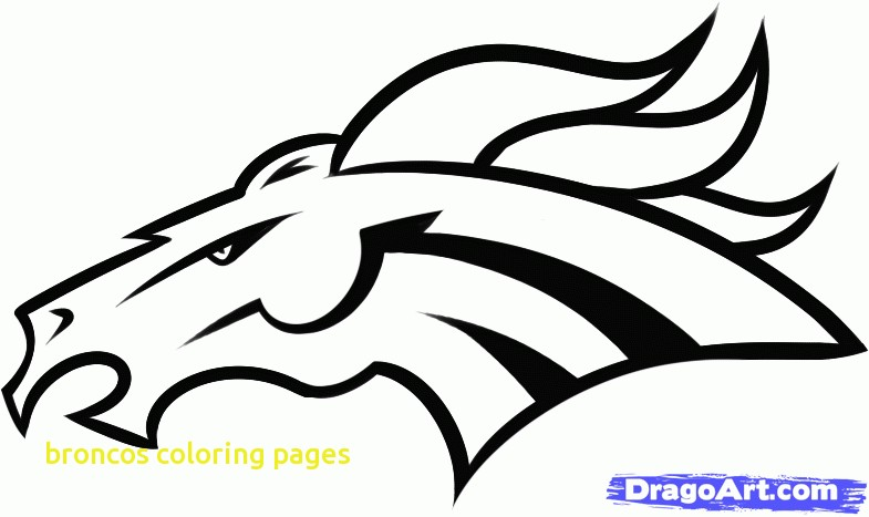 Broncos Coloring Pages with Helmet Clipart Denver Bronco Pencil and In  Color Helmet Clipart