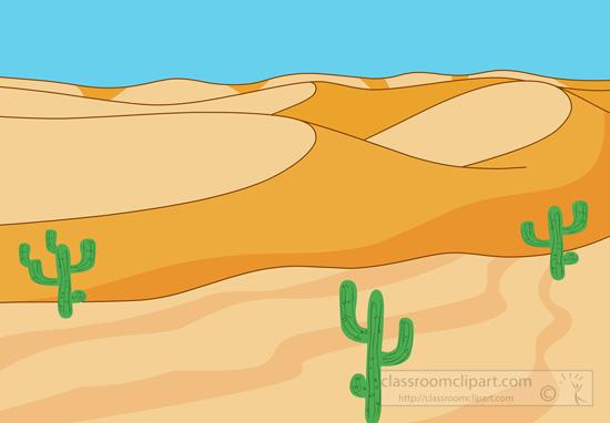 Desert cactus clipart kid