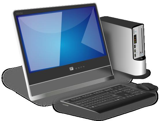 Desktop Computer Clip Art Images Free For Commercial Use ...