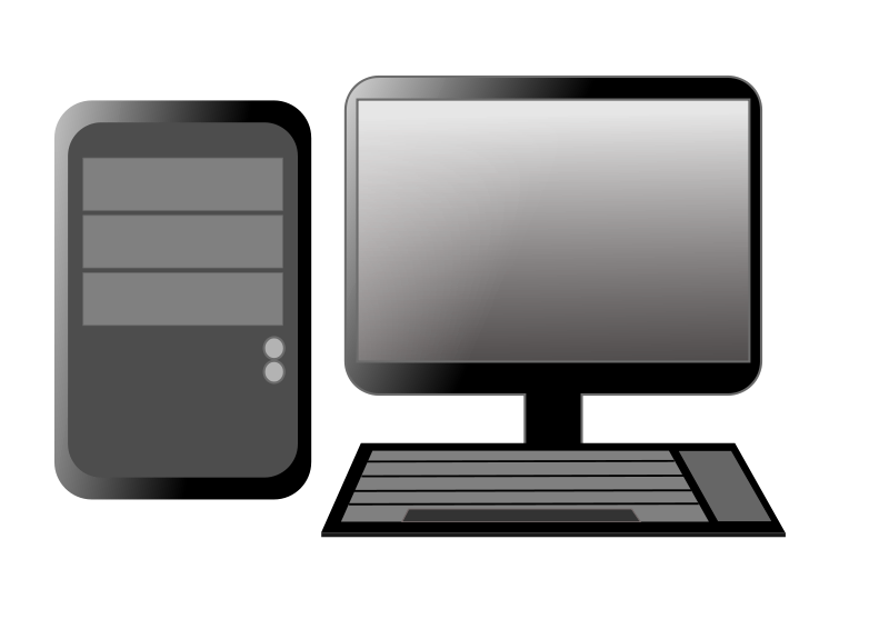 Desktop Computer Clip Art Images Pictures Becuo
