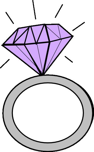 Diamond Ring Clip Art At Clker Com Vector Clip Art Online Royalty