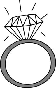 Diamond Ring Clip Art Pdxkurt
