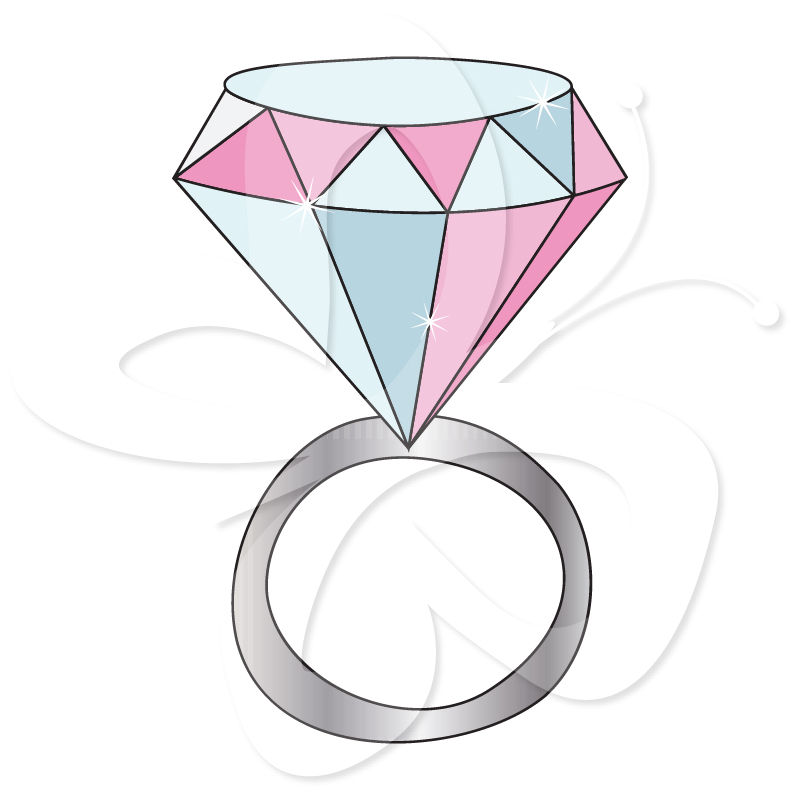 ... Diamond Ring Clip Art ...