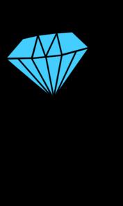 Diamond Ring Teal Clip Art At Clker Com Vector Clip Art Online
