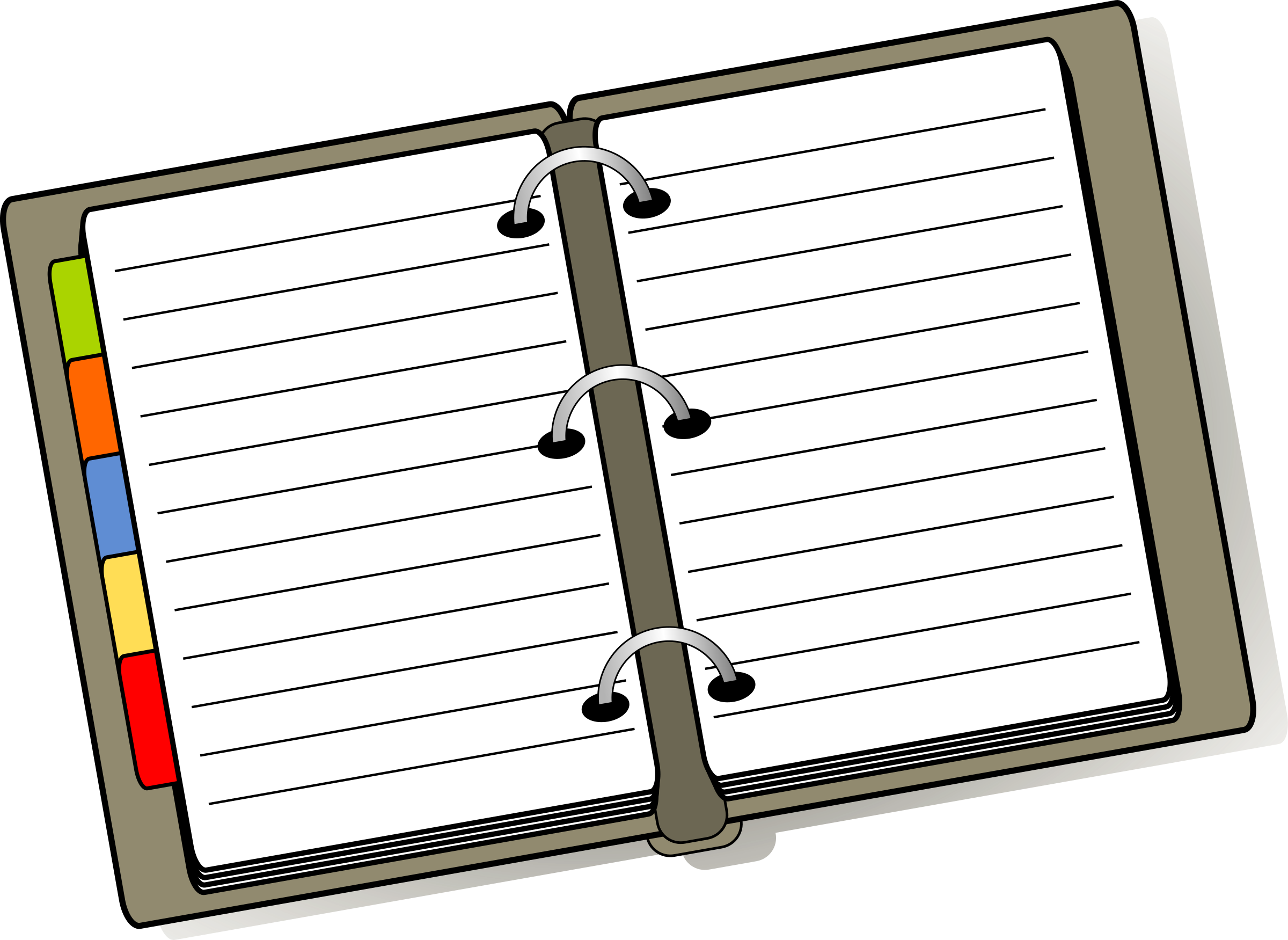 BIG IMAGE (PNG) - Diary Clipart