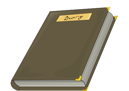 Diary Clipart