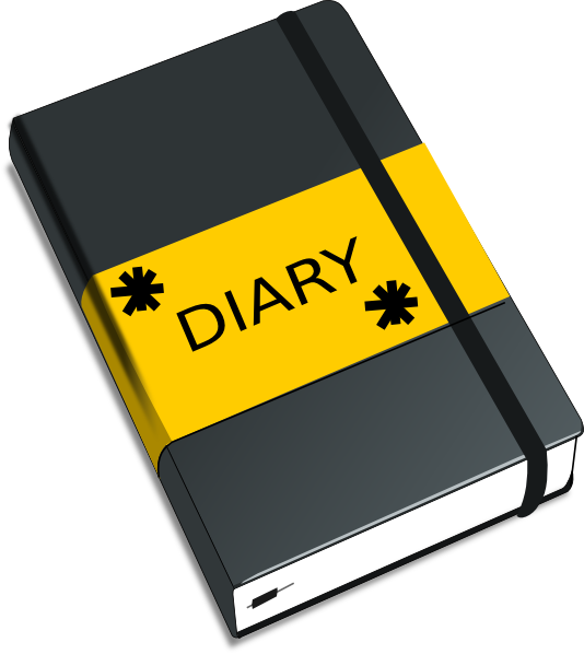Diary Clipart This Image As: