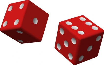 1 Dice Clipart | Clipart library - Free Clipart Images