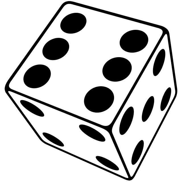 Three-Dimensional Dice | Typophile - Clipart library - Clipart library