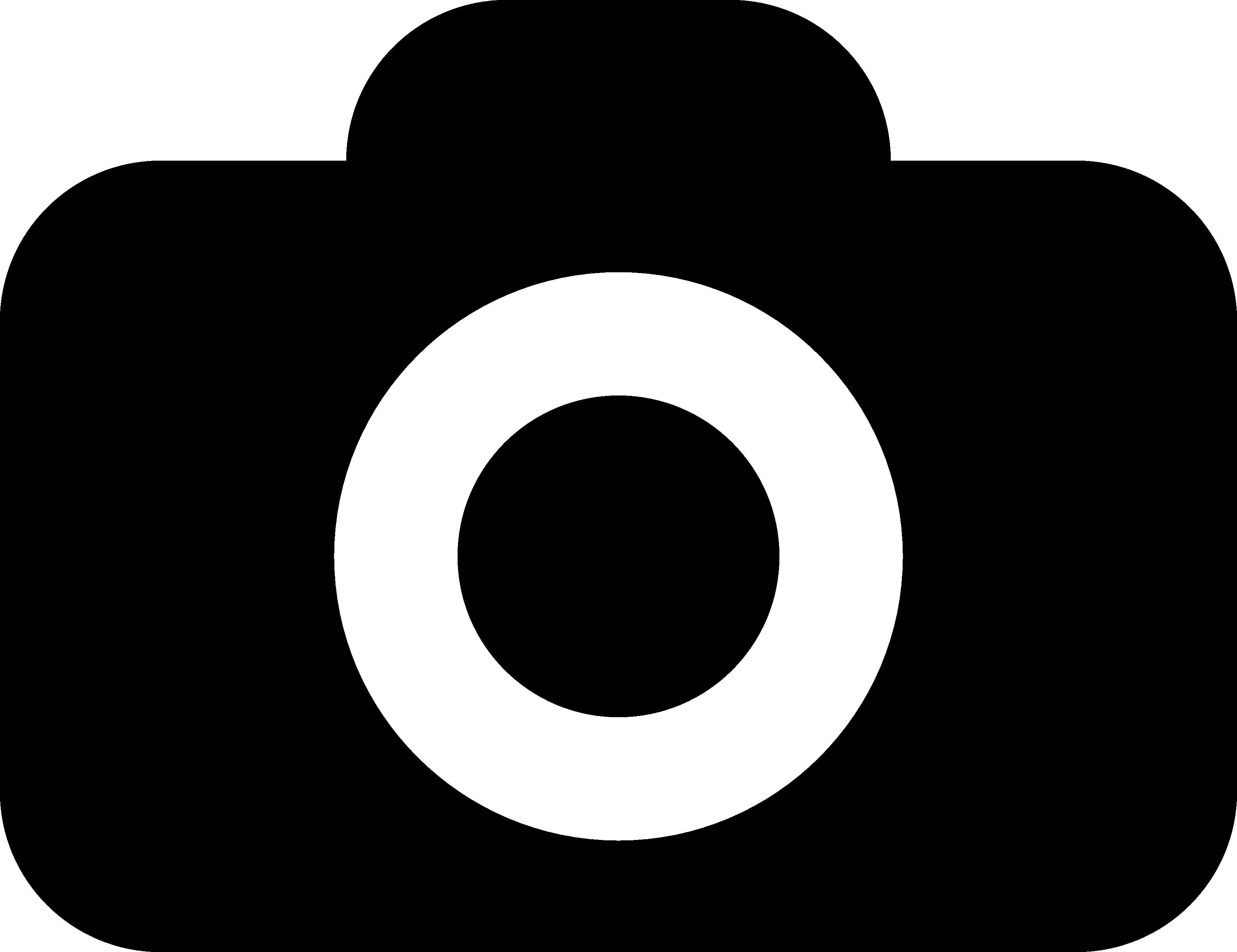 Digital Camera Clipart Black And White Fotocamera Foto Camera Icon
