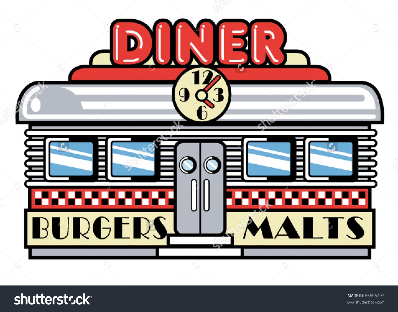 Diner Sign Clip Art
