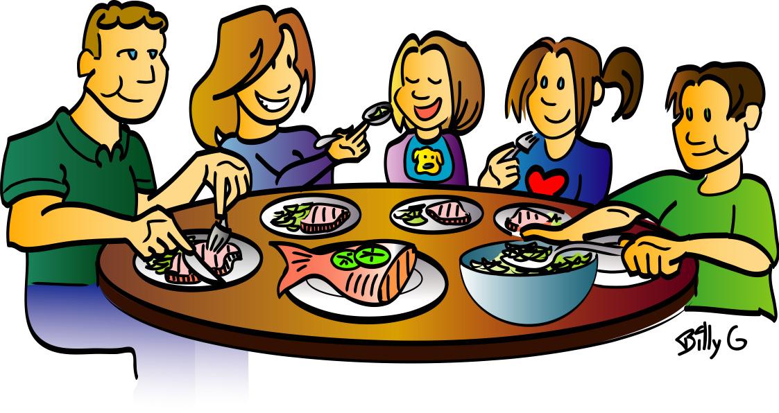 Dinner Table Clipart Dinner .