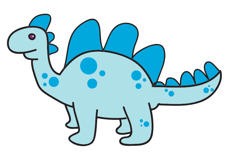 Dinosaur clip art free for kids free clipart image 3
