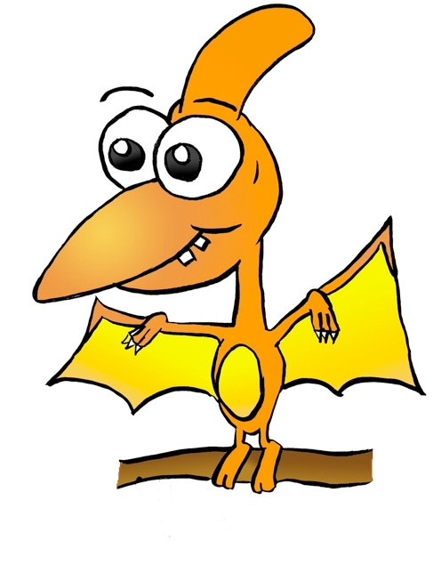 Dinosaur Clipart Cartoon .