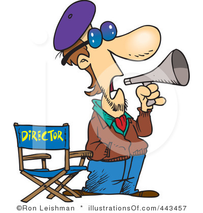 Clipart Director Clipart