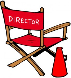Director Chair Clipart #1