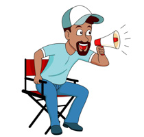 movie-director-with-loud-speaker-clipart. Movie Director With Loud Speaker  Clipart Size: 112 Kb From: Occupation