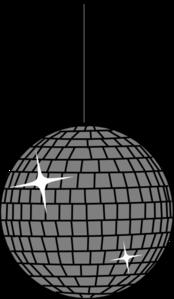 Disco Ball One Clip Art