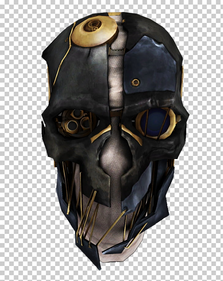 Dishonored 2 Dishonored: Death of the Outsider Corvo Attano Mask, Dishonored  File PNG clipart