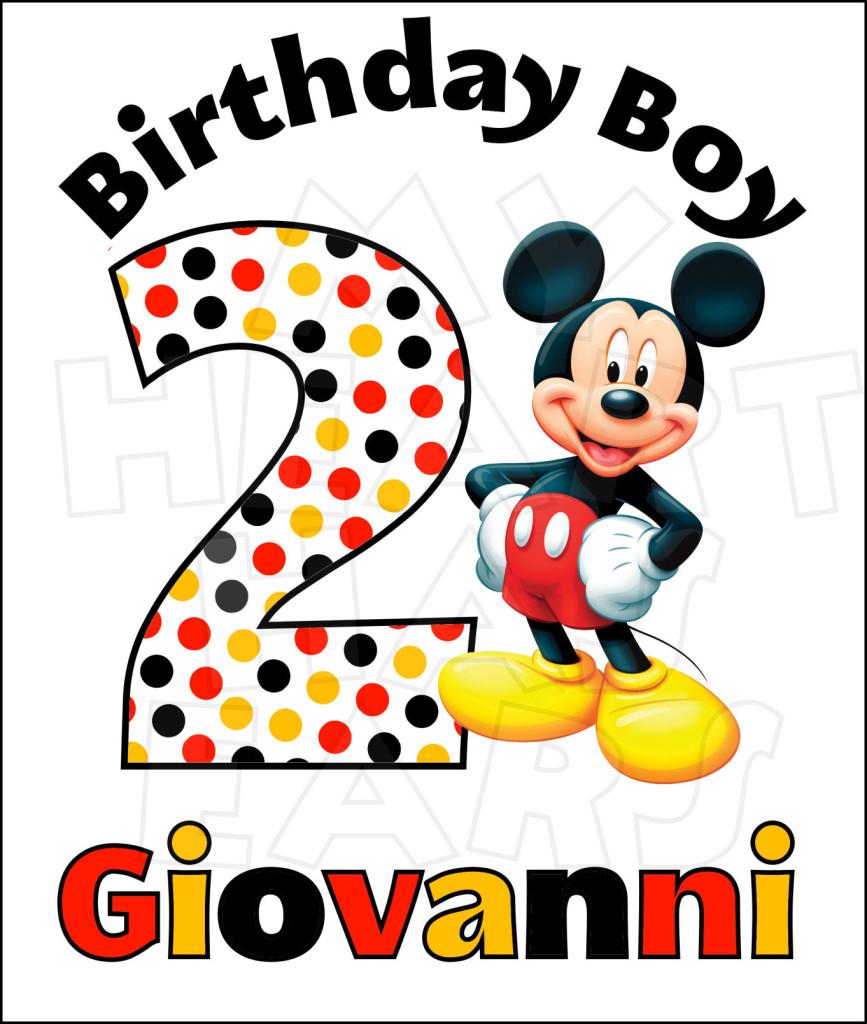 Disney Mickey Mouse Birthday .