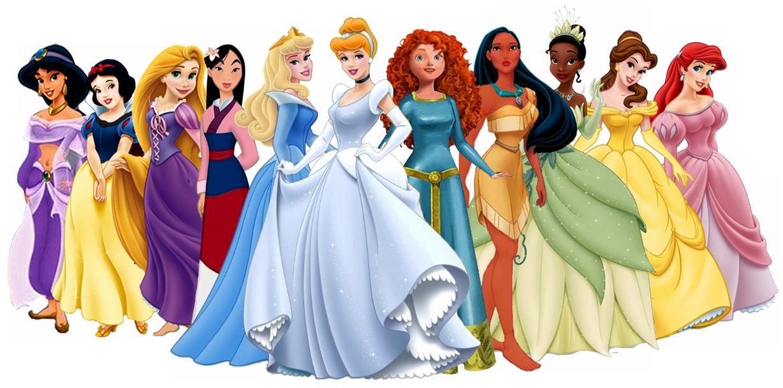 Disney Princesses .