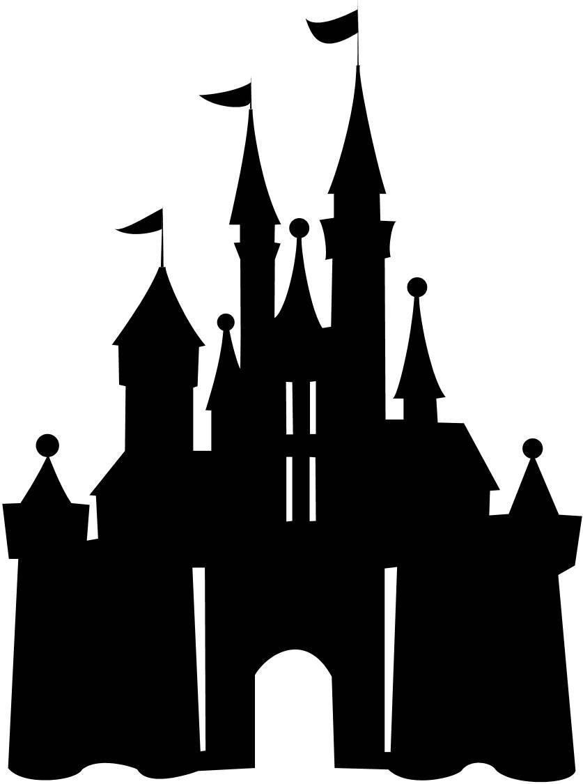 Disneyland Castle Silhouette Clipart Panda Free Clipart Images