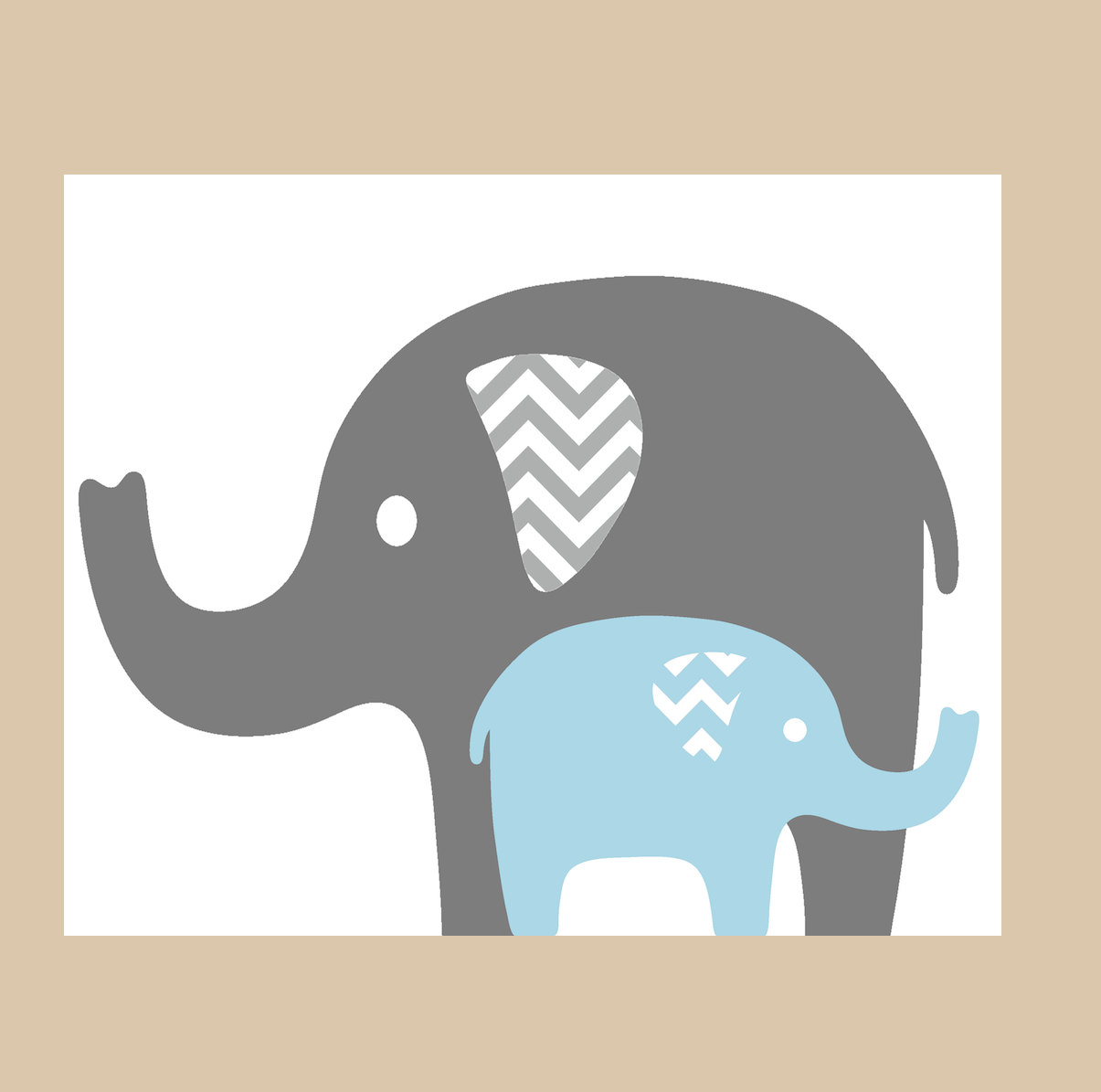 Displaying 17 Images For Baby Elephant Clip Art Black And White