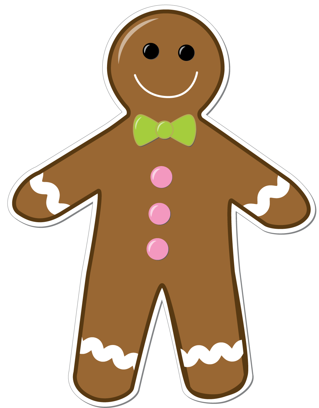 Displaying 18 Images For Gingerbread Man Border