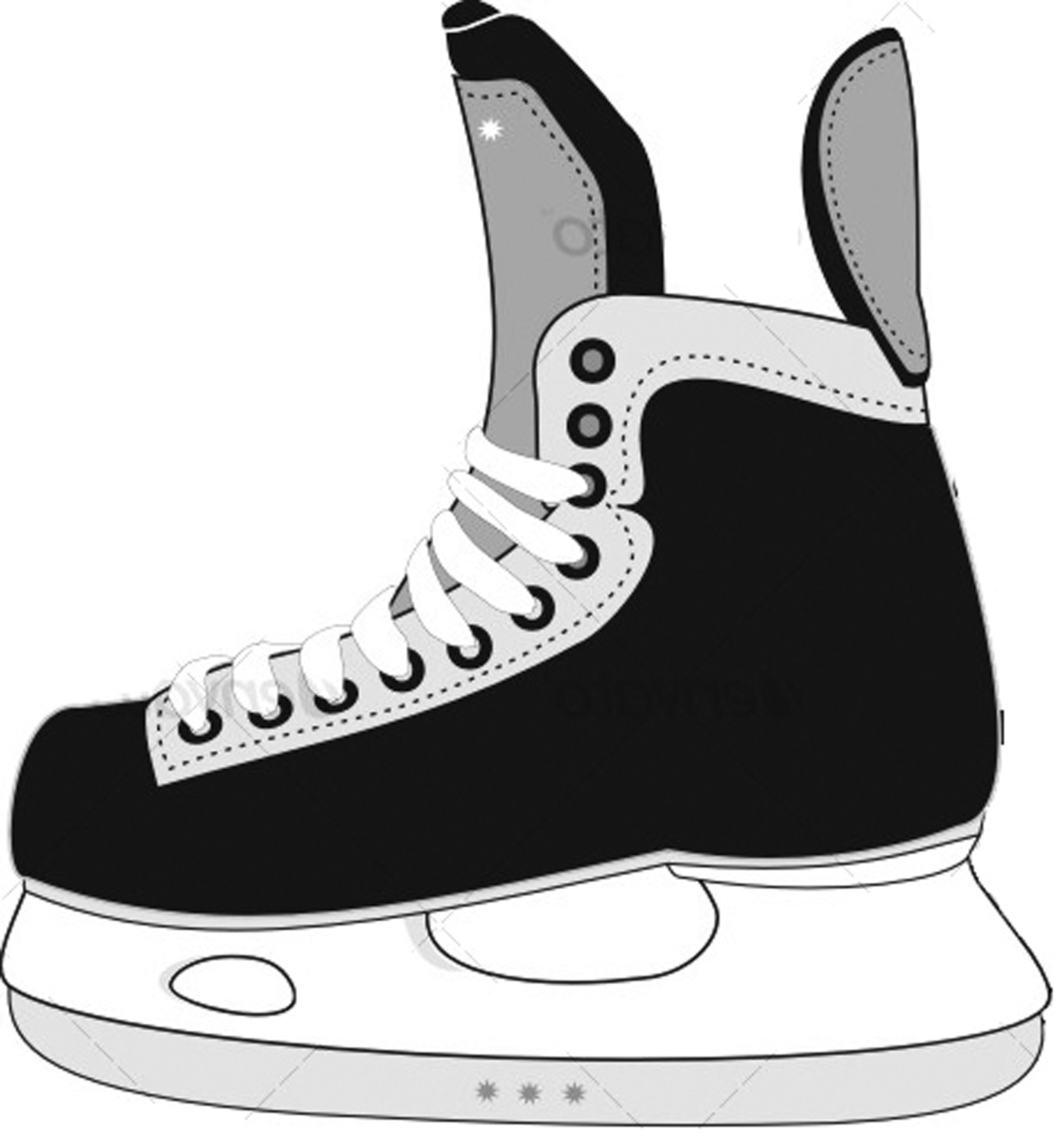 Displaying 20 Images For Cartoon Hockey Skates