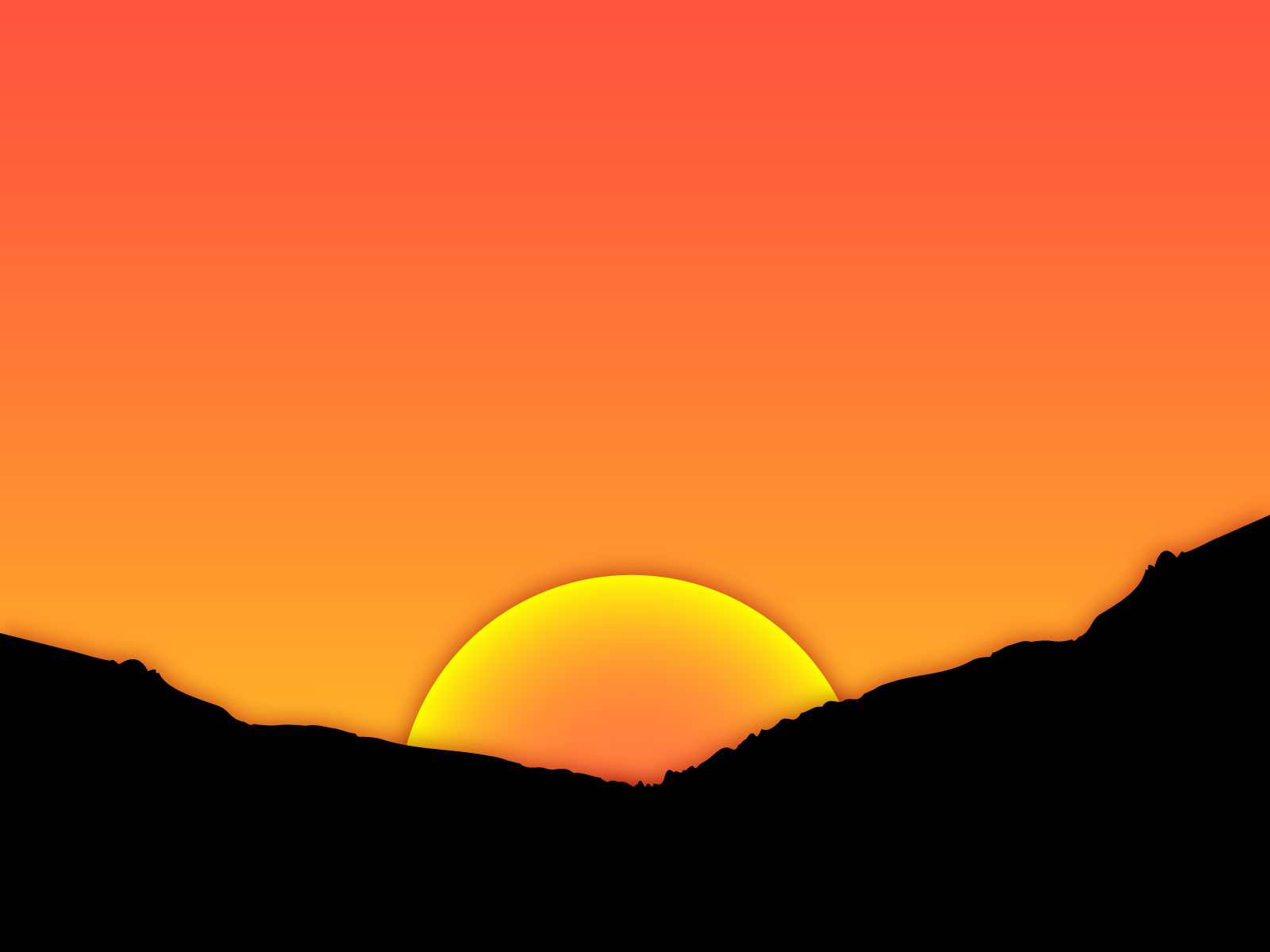 Displaying 20 Images For Evening Sunset Clipart