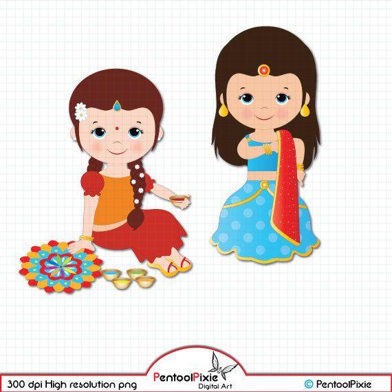 Deepavali clipart Diwali clipart ethnic celebration