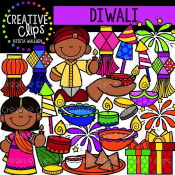 Diwali Clipart {Creative Clips Clipart}