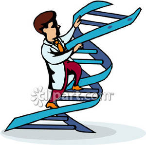 Dna Cartoon Clipart #1