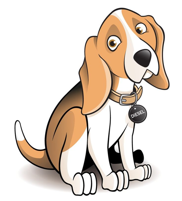 dog Clipart   Beagle Dog Cartoon by ~timmcfarlin on deviantART