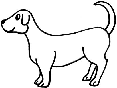 dog clipart black and white dog clip art black and white clipart panda free  clipart images animations