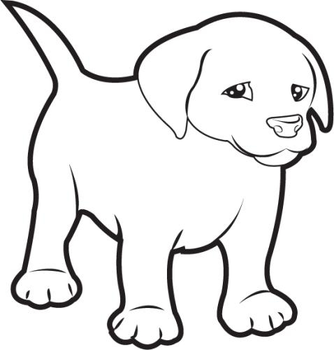 dog clipart black and white puppy dog clipart black and white clip art  library dinosaur clipart