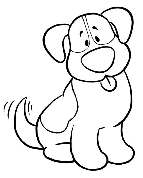 Dog Clipart Free Black and