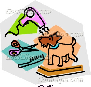 Dog Grooming Clipart Dog Grooming
