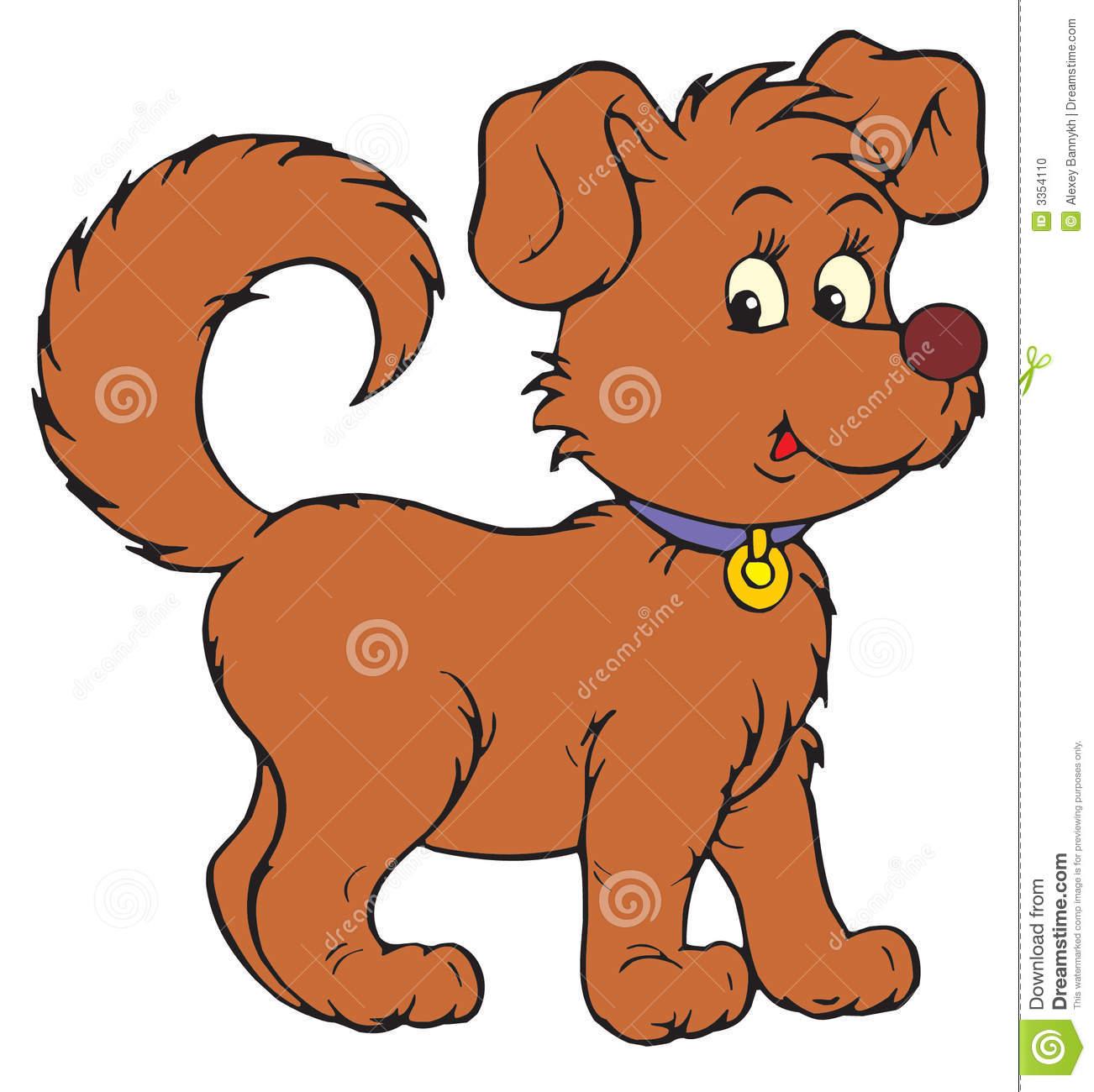 Dog (vector clip-art) Stock .