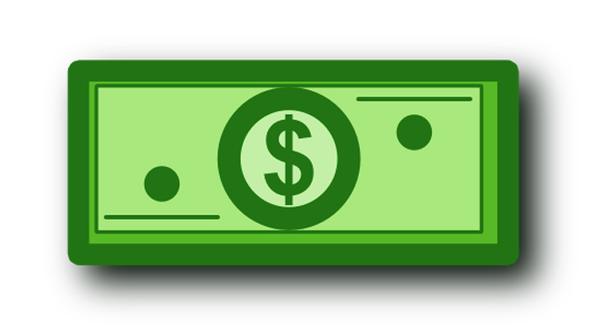 Dollar Bill Clip Art Dollar Bill Image Vector