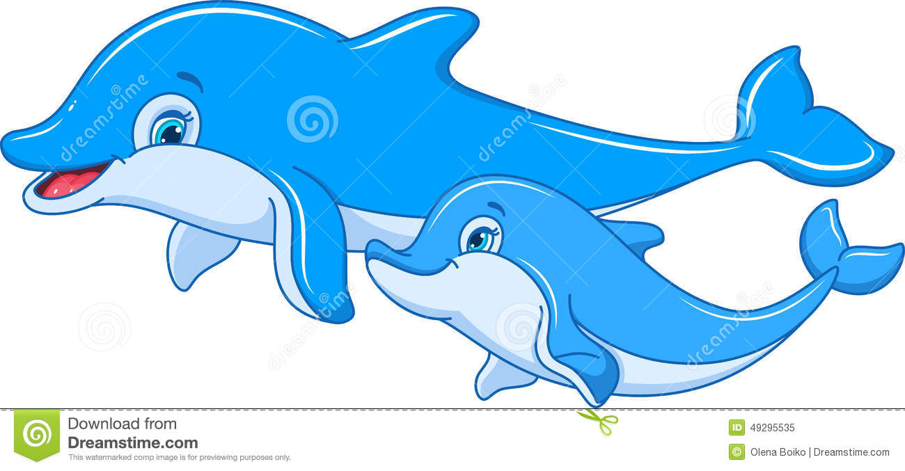 12 Dolphin Clipart Preview Dolphin Mother Ba Hdclipartall